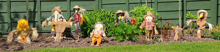 Wray Scarecrows
